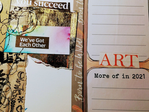 2021 Journalling your life with Art
