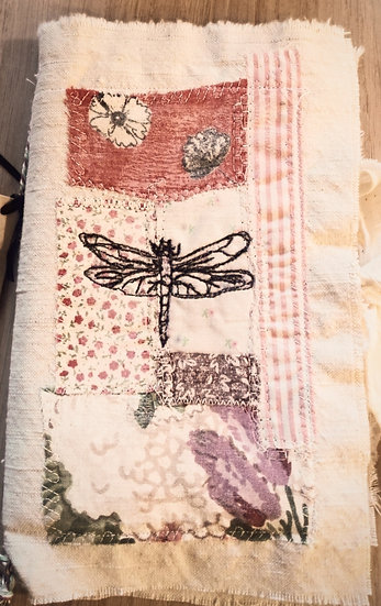 Raw Silk Stitch Journal