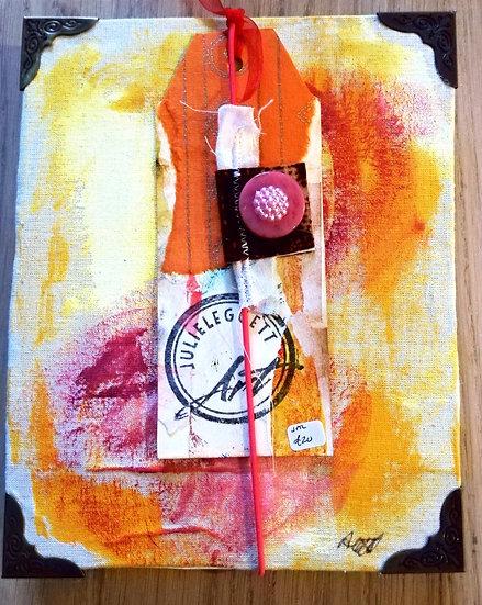 Handmade concertina sketch book/journal