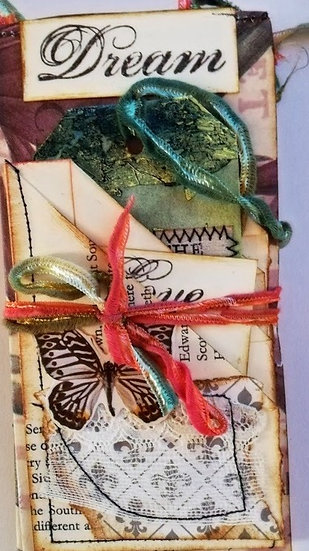 Small Journal - concertina - Butterflys