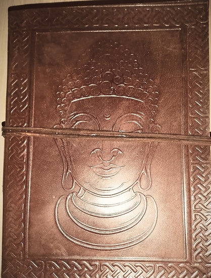 Leather Buddha Notebook