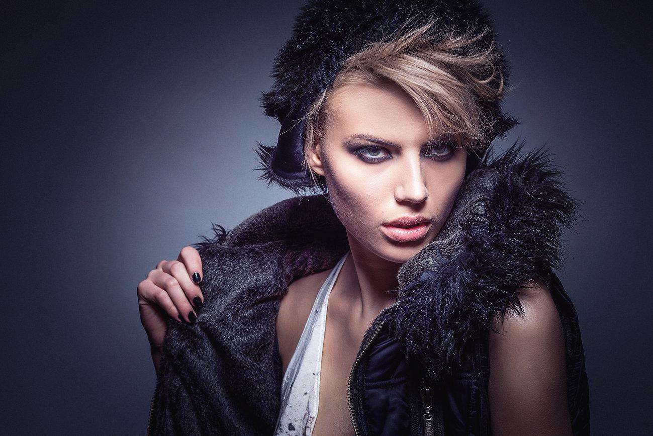 femme mode portrait modèle