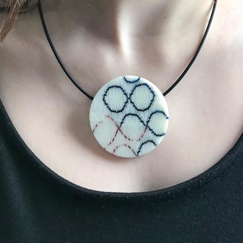 birds in the hand jewelry pendant
