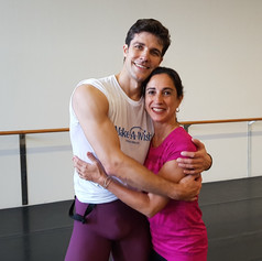 with Roberto Bolle