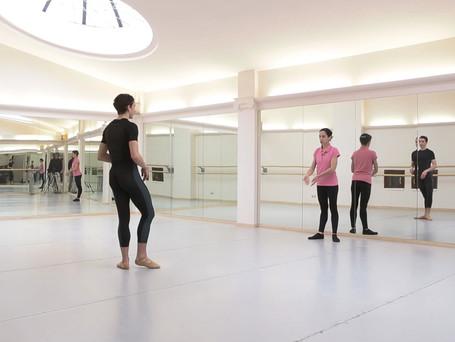 ballet cass with A Crescenzi, A di Clement e, A. Nanetti pianist