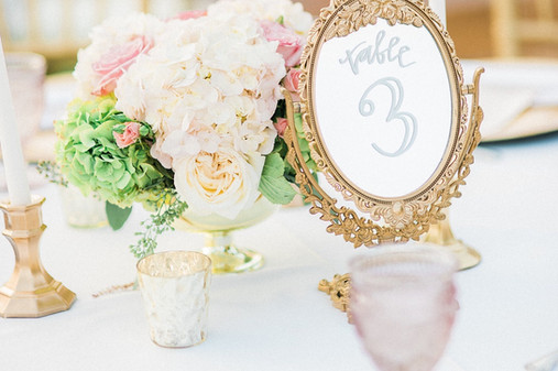 glamorous Muckenthayler Wedding centerpiece- Featured on Style Me Pretty