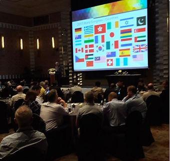 Liam McQuaid chairing the AGN World Congree in Bangkok