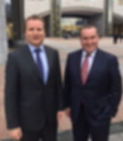 Our Tax Partner Paul Dillon travelled to Brussels last week (pictured left in Brussels with Institute President Liam Lynch) as part of a Chartered Accountants Ireland delegation