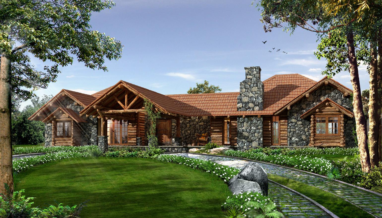 Earthitects Stone Lodges - Entrance