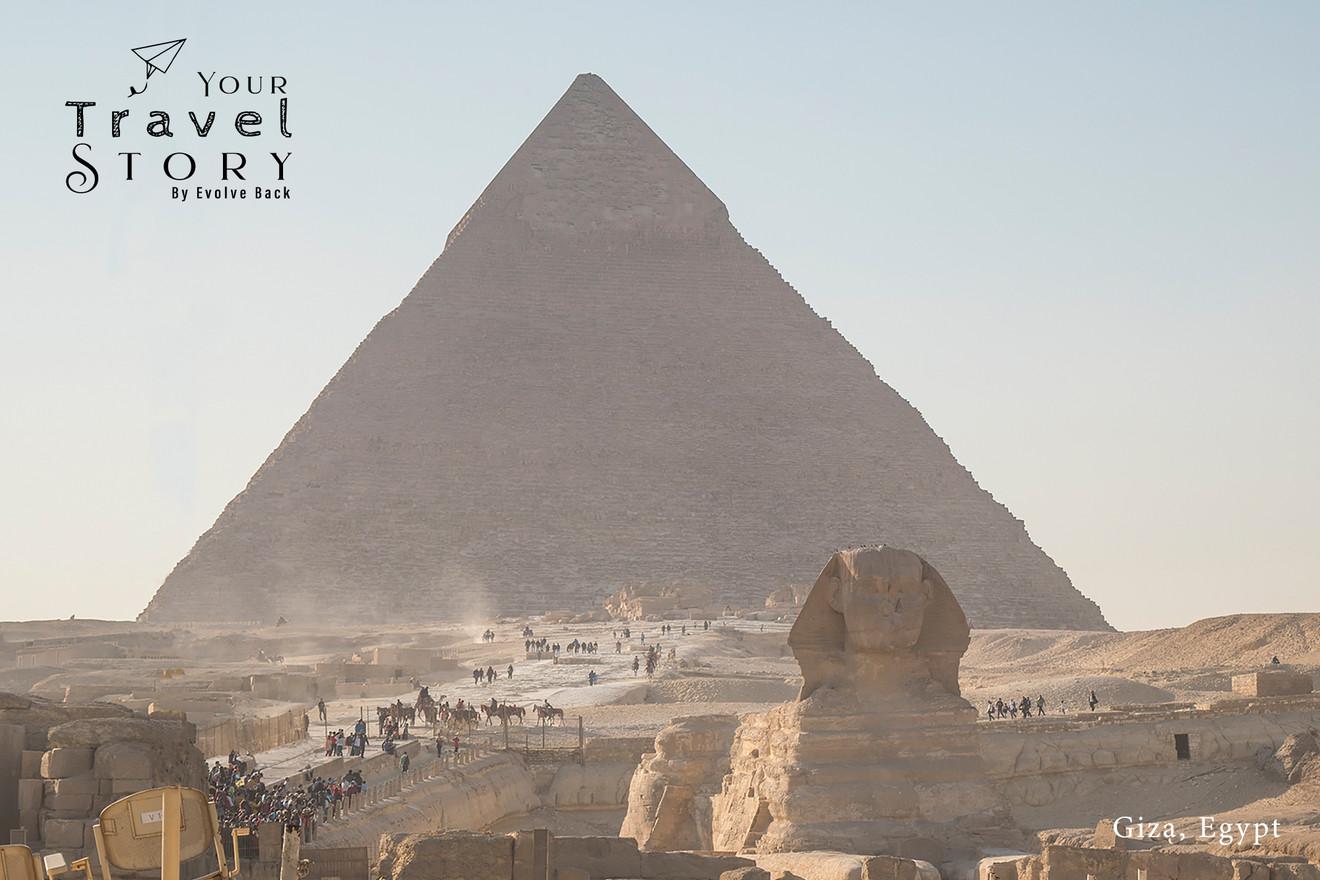 Giza, Egypt | Photo: Jose Ramapuram
