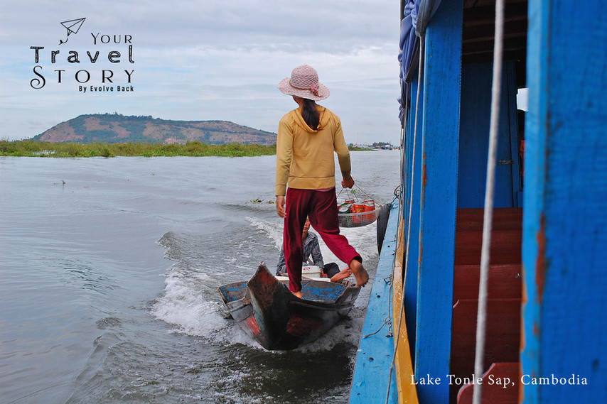 Lake Tonle Sap, Cambodia | Photo: Jose Ramapuram