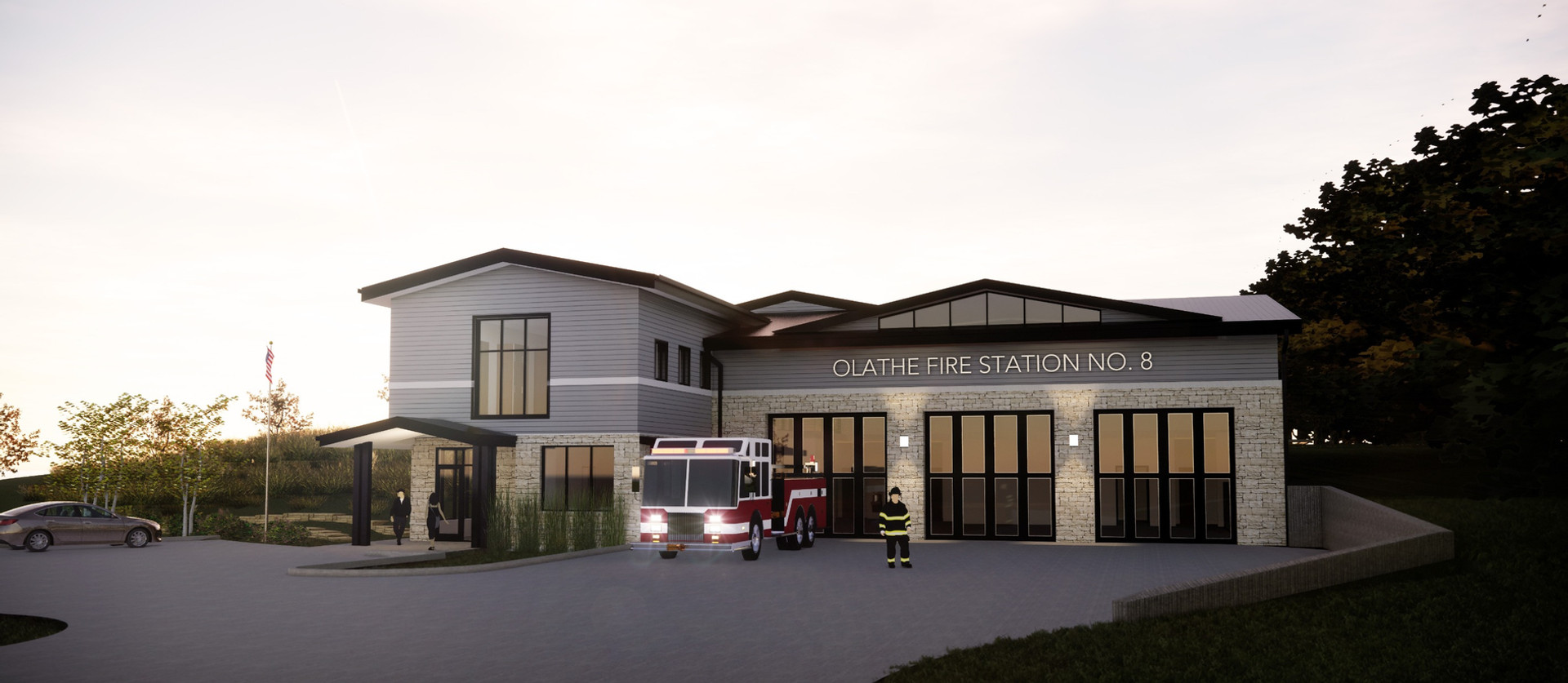 OLATHE FIRE STATION NO. 8