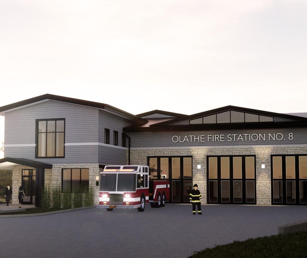 OLATHE FIRE STATION NO. 8