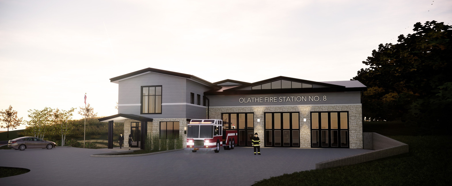 OLATHE FIRE STATION NO.8