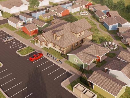 """""""Longmont breaks ground on Tiny Home Village for homeless veterans"""""""