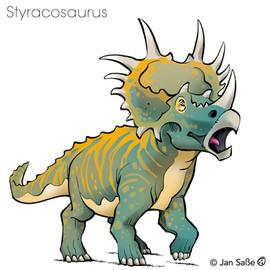 styracosaurus (c)jansasse.jpg