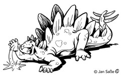 stegosaurus funny (c)jansasse.jpg