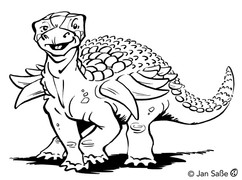 panoplosaurus funny (c)jansasse.jpg