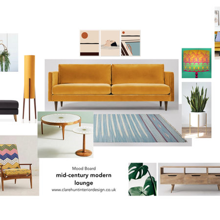 lounge, mid-century modern...