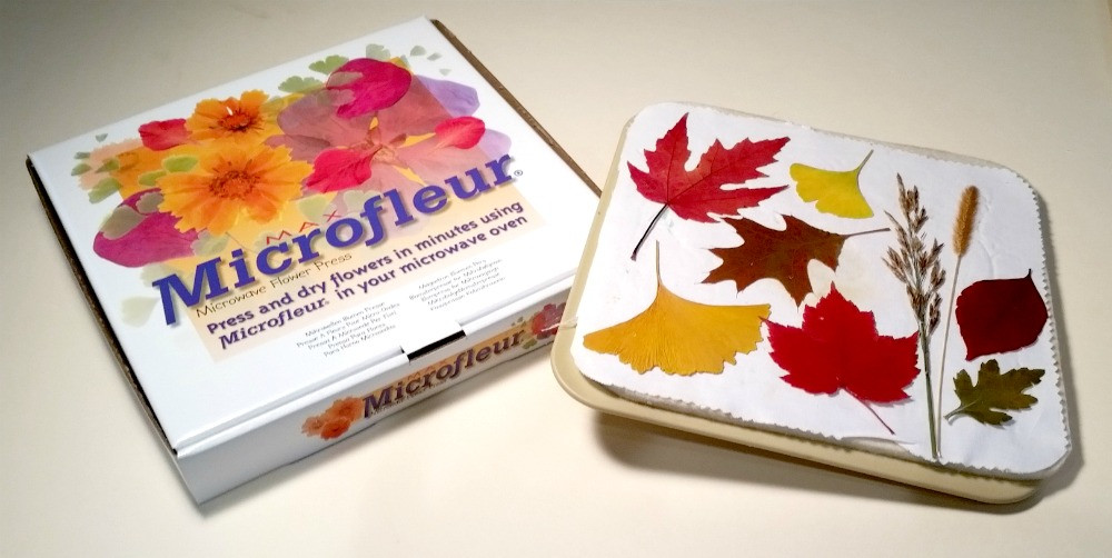 Vermont Pressed Flowers sells Microfleur Flower Presses