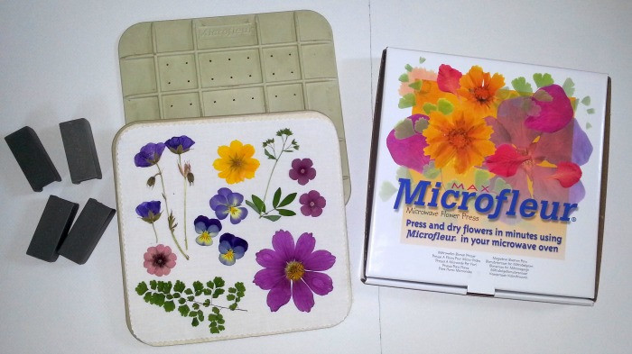 Microfleur, microwave flower presses by Vermont Pressed Flowers
