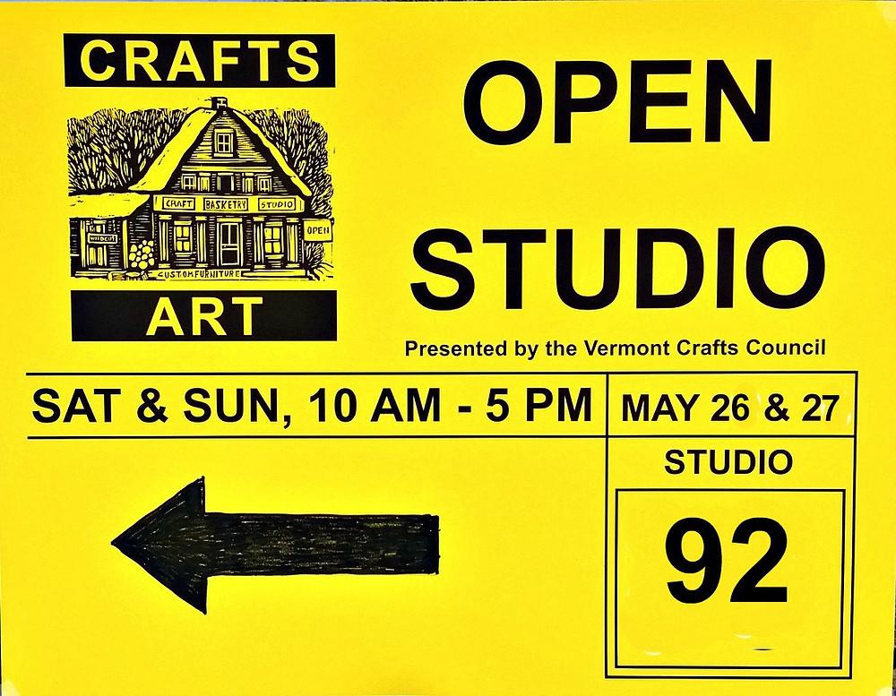 Open Studio Wilmington Vermont