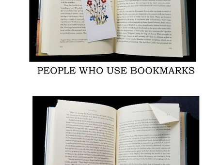 Bookmarks or Dog Ears?