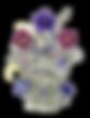 Verbena Pressed Flowers