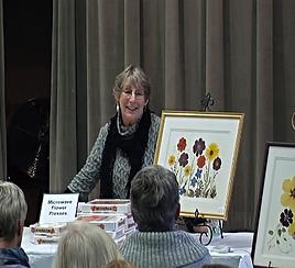 pressed flower presentation by Ellie Roden
