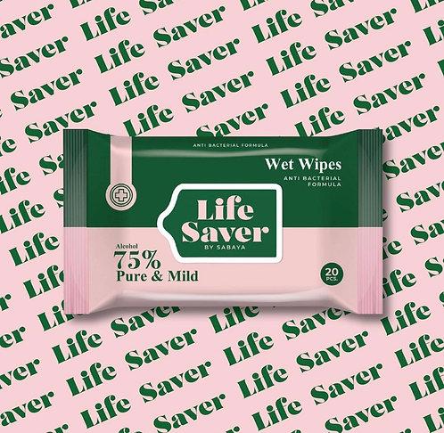 Lifesaver Jumbo Wet Wipes