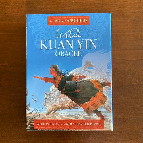 Wild Quan Yin Oracle Cards by Alana Fairchild