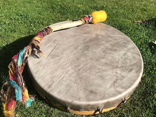 """Elk Hide 14"""" Drum"""