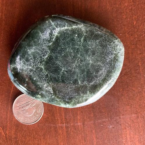 Seraphinite Palm Stone