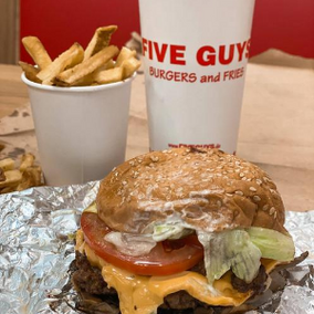 Five Guys: Foodporn in Mannheim