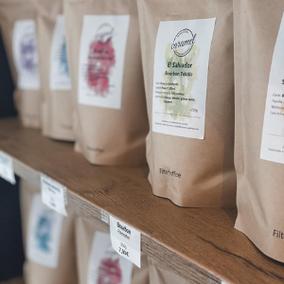 Kaffee made in Weinheim