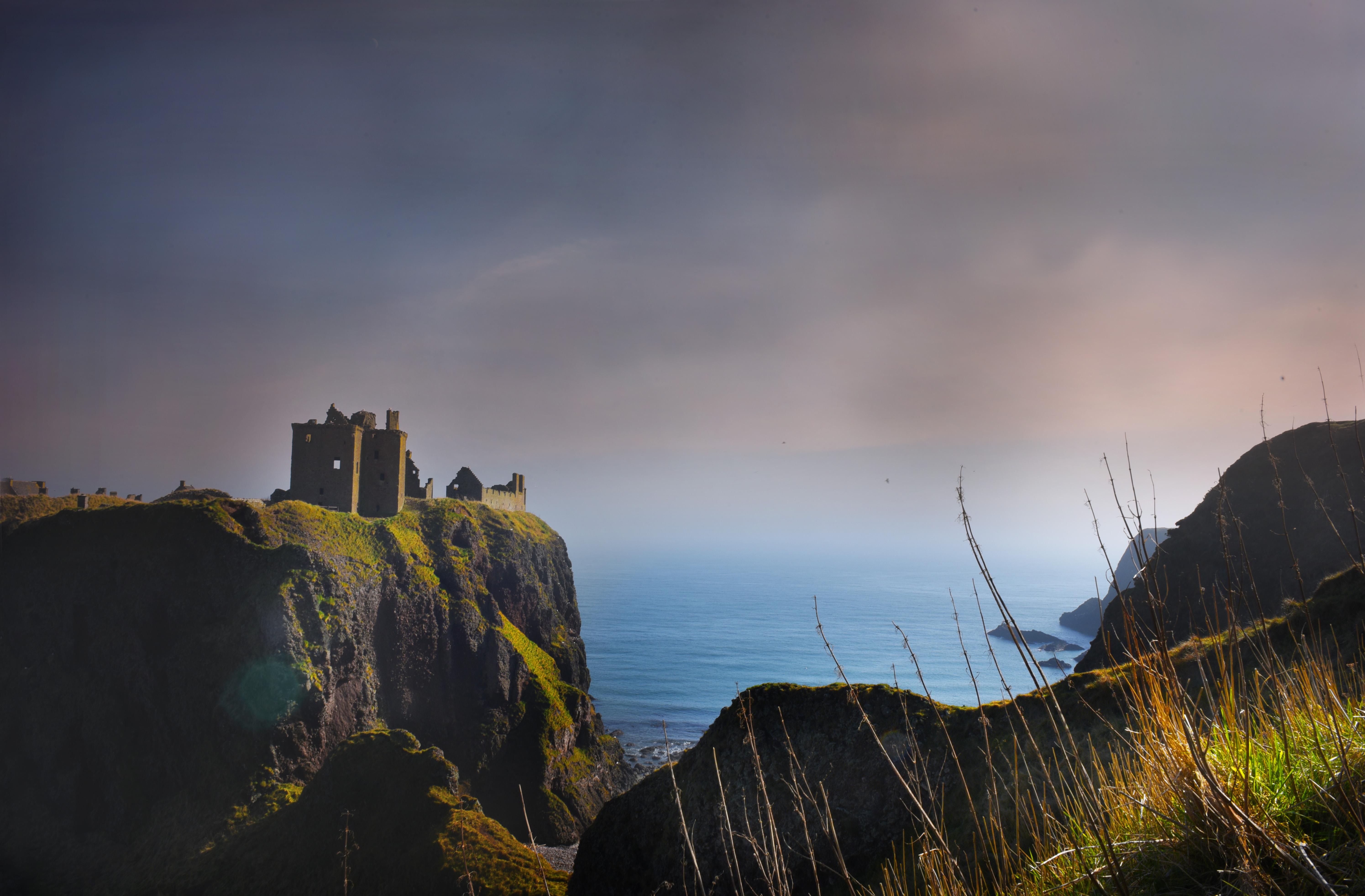 Dunotter Castle Stonehaven Scotland