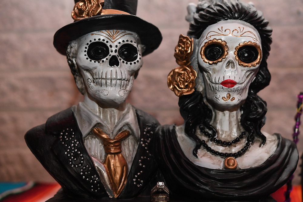 Day of the Dead Wedding Rings