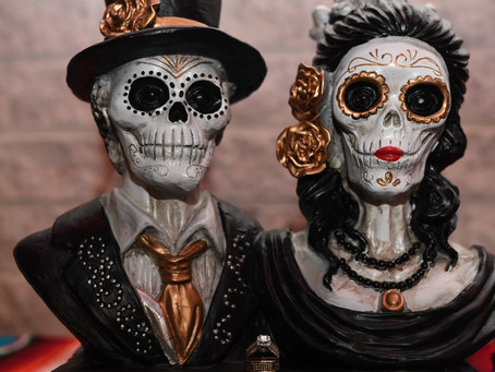 Day of the Dead Themed Wedding