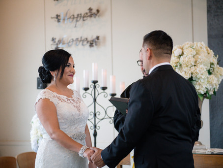 Christie + Mike: Historic Wedding Chapel Elopement