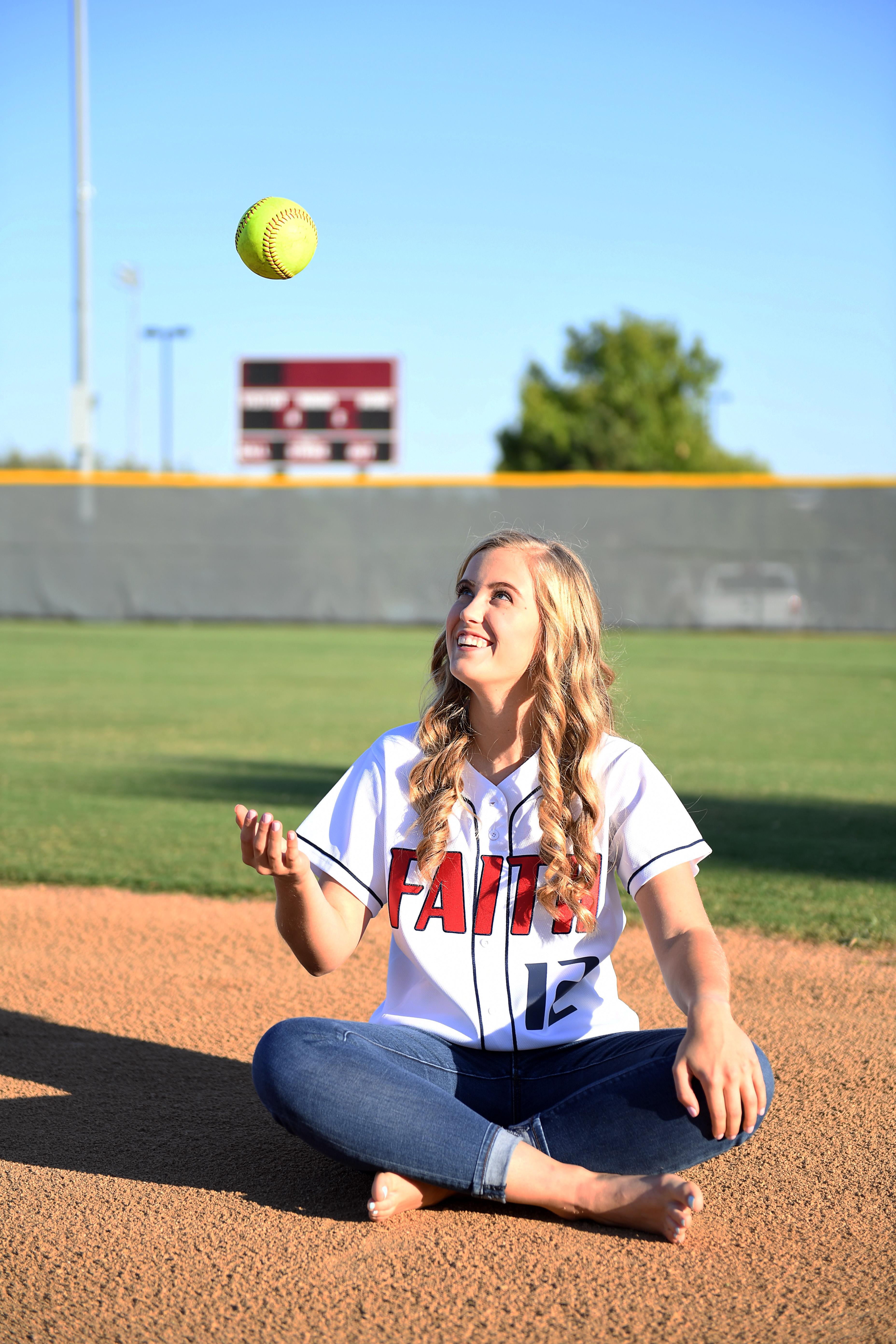 Sports Senior Pictures