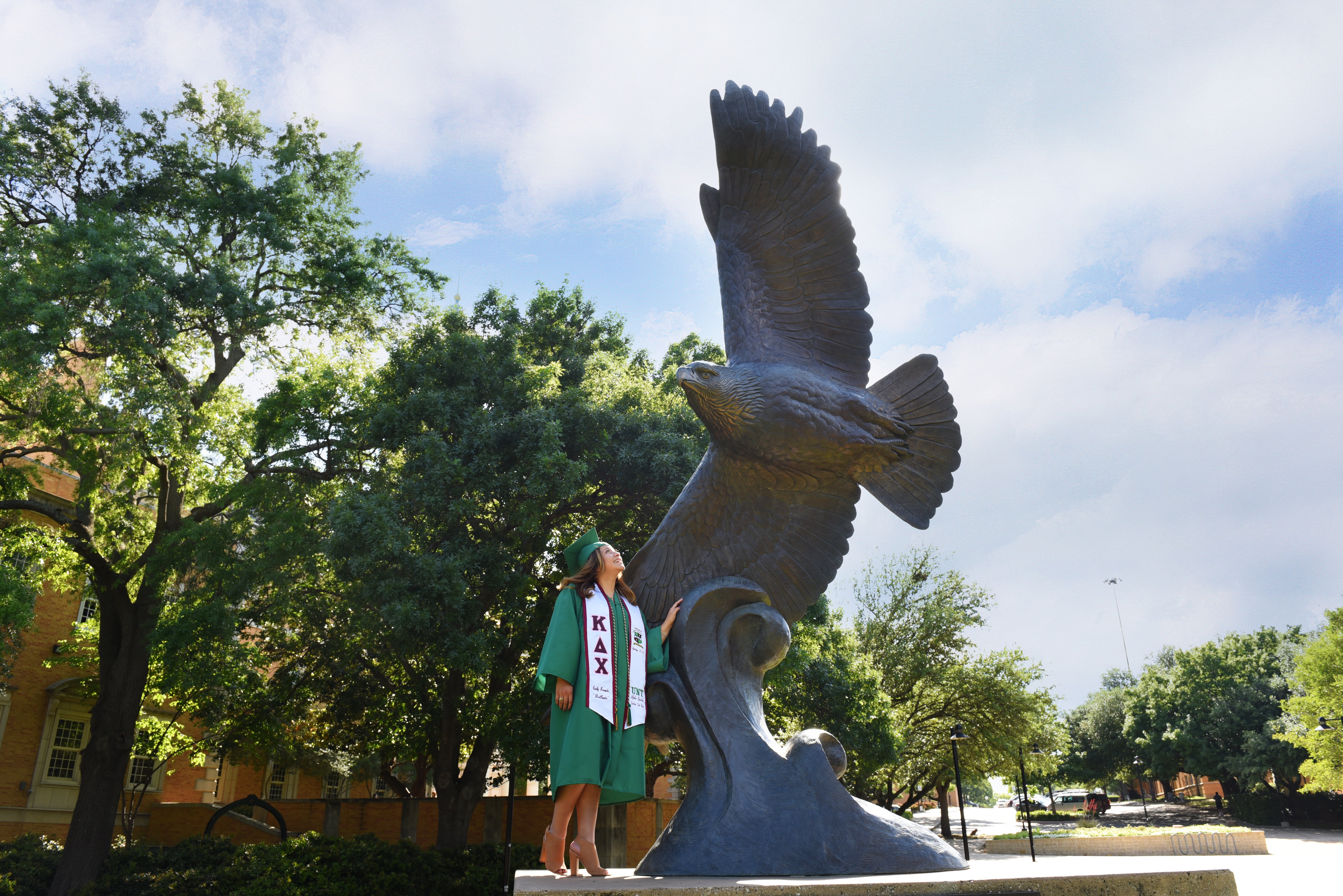 UNT College Grad Senior Pictures