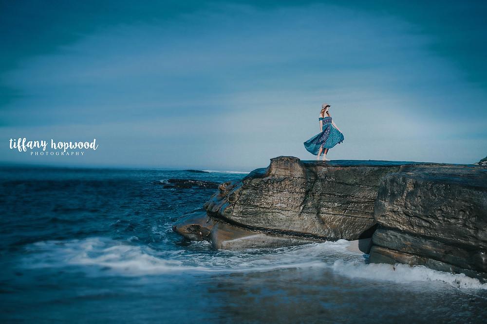 Model Shoot, Windandsea Beach, La Jolla, CA