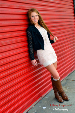 Red Senior Pictures
