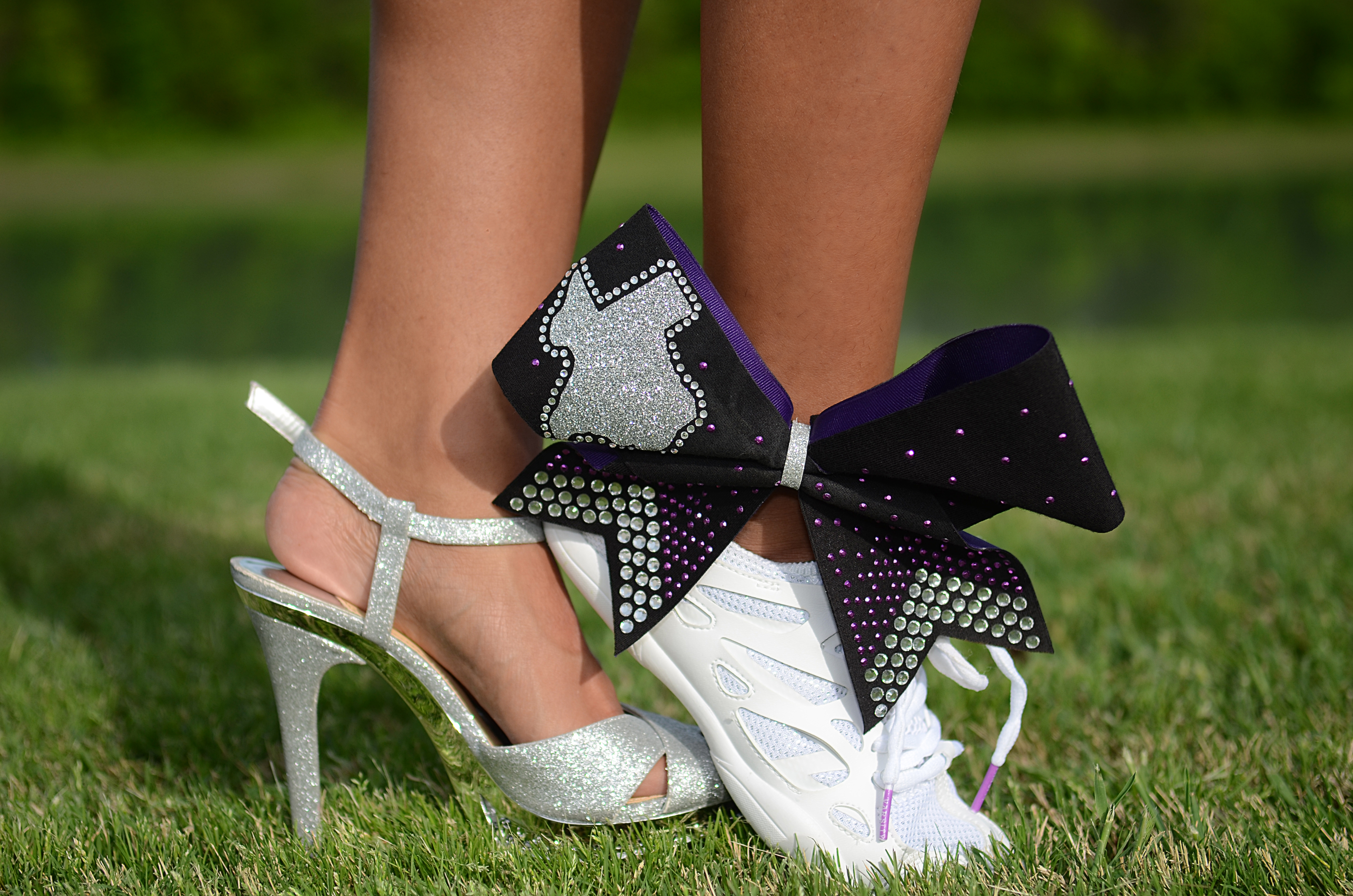 Cheer Shoe Senior Pictures