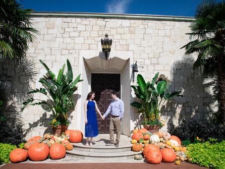 Dallas Arboretum Fall Engagement