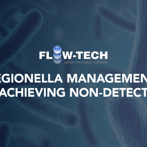 Legionella Management: Achieving Non-Detect with Flow-Tech