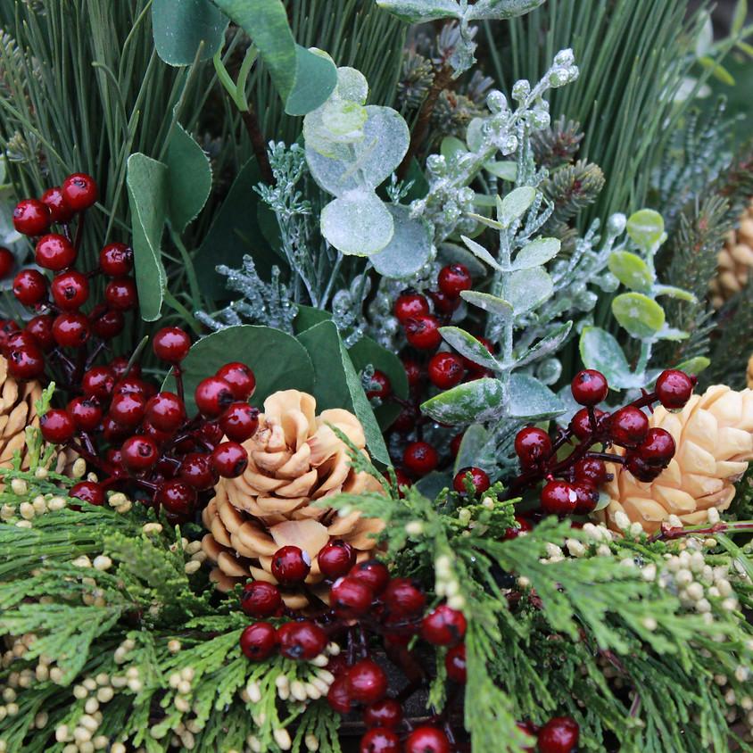 Handmade Holiday-Spruce Tip Pot