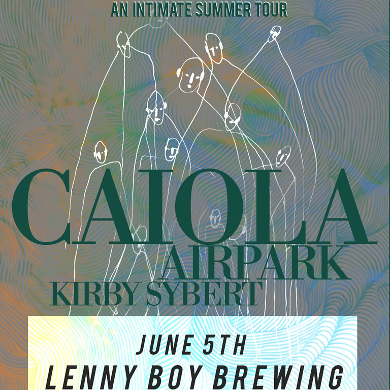 CAI • OLA at Lenny Boy Brewing with Airpark & Kirby Sybert