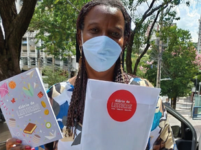Literatura para todos: Comunidade Viva Sem Fome inclui livros em cestas básicas distribuídas