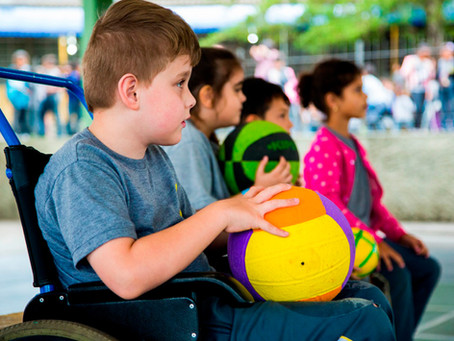 Profissionais de educação física buscam formação para desenvolver aulas inclusivas